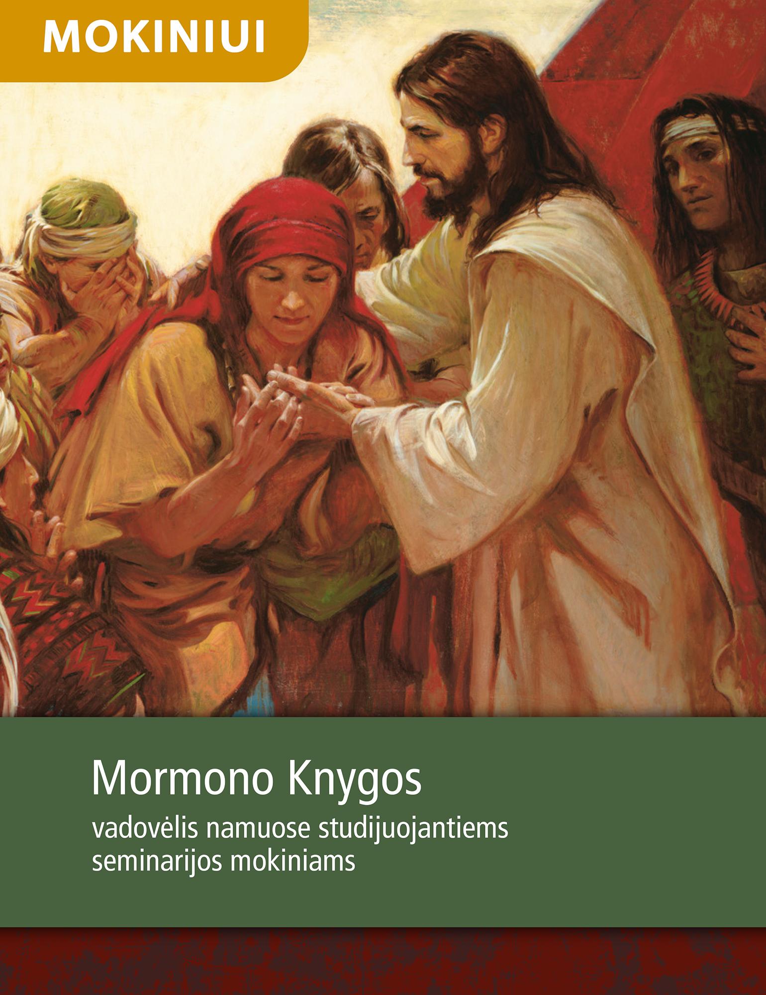 Mormono Knyga. Studijų vadovėlis namuose studijuojantiems seminarijos mokiniams
