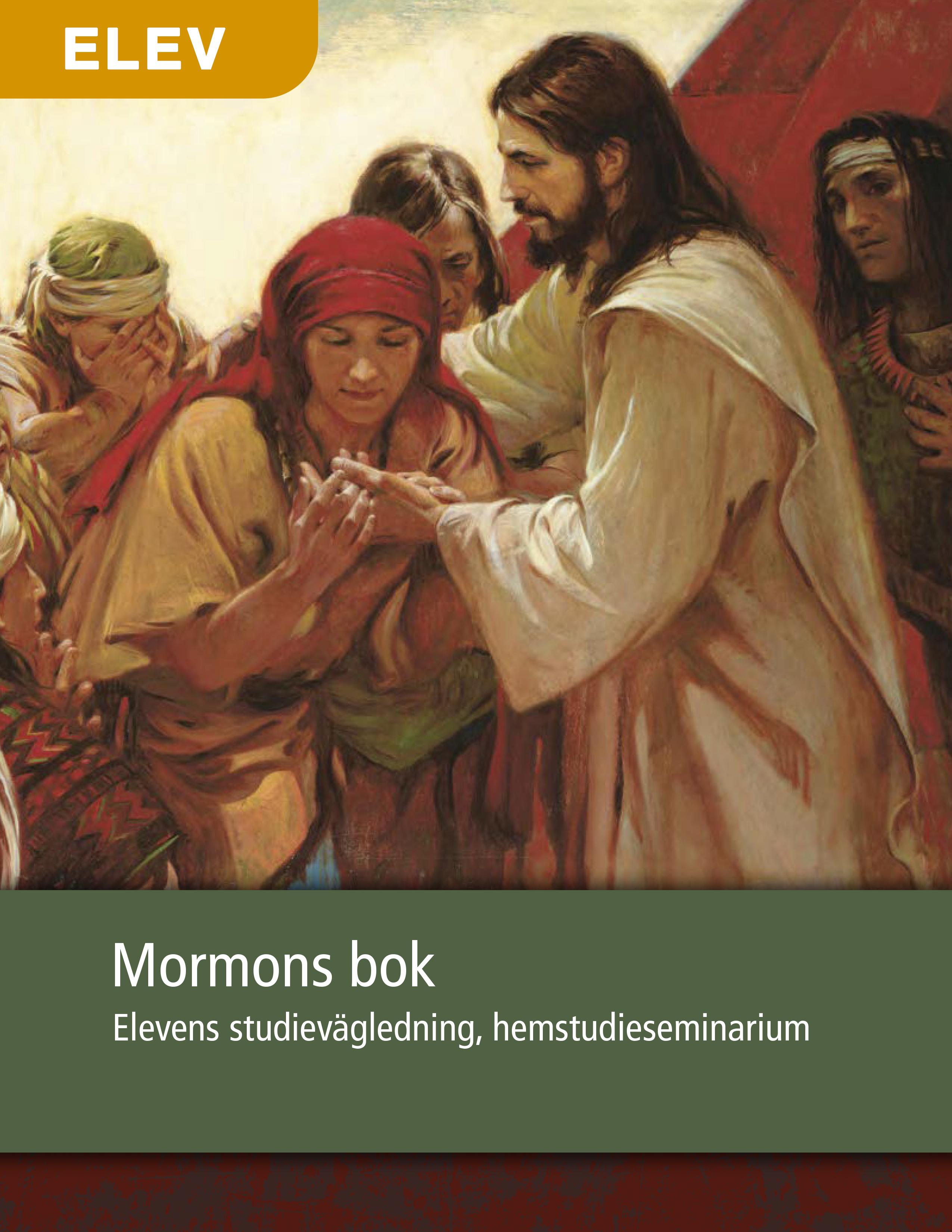 Mormons bok – Elevens studievägledning, hemstudieseminarium