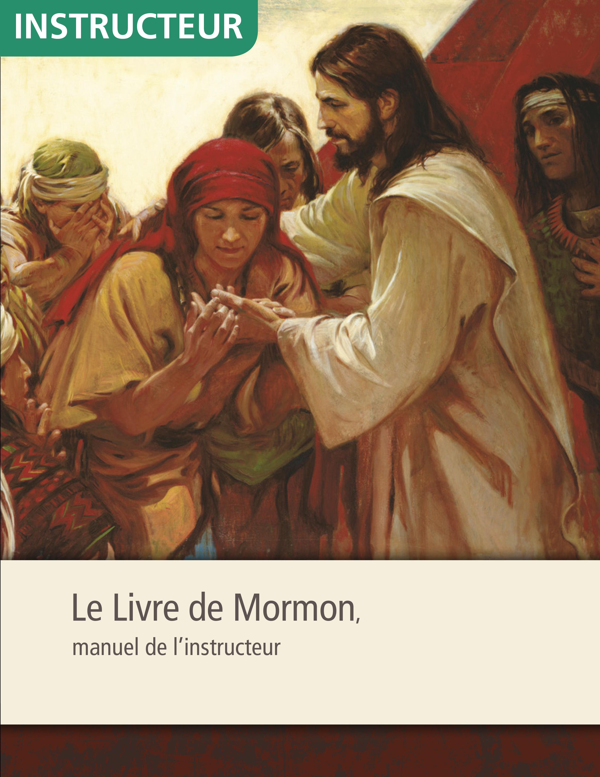 Livre de Mormon, manuel de l'instructeur de séminaire
