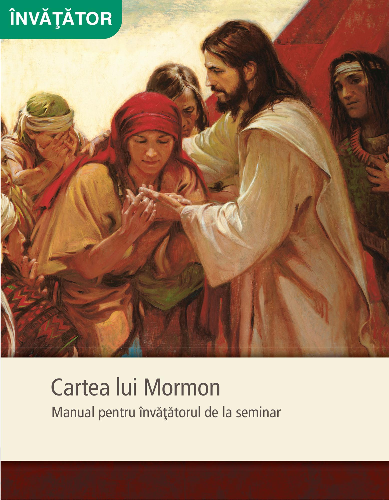 Cartea lui Mormon – Manual pentru învăţătorul de la seminar