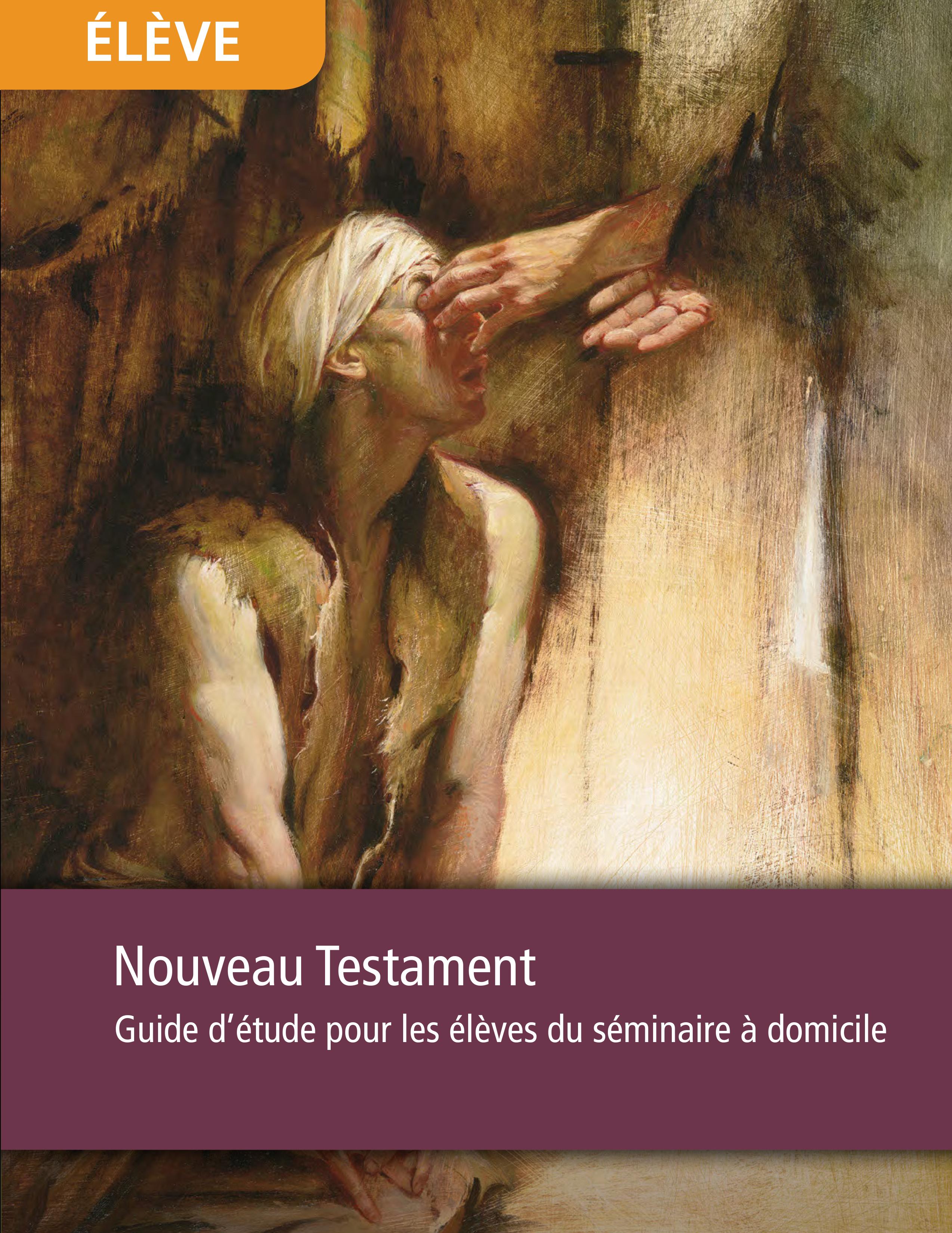 Nouveau Testament, guide d'étude pour les élèves du séminaire à domicile