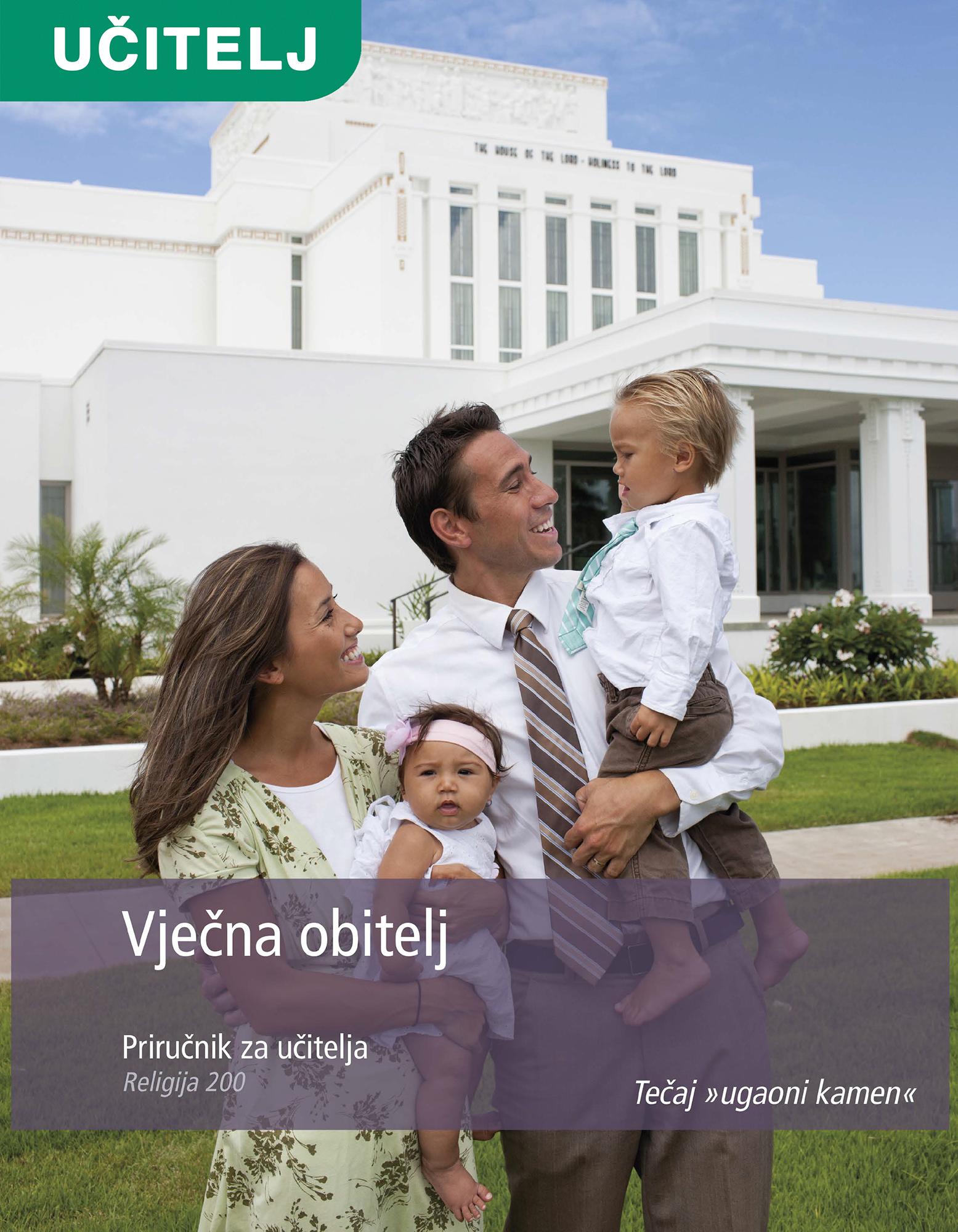 Vječna obitelj – priručnik za učitelje (Rel 200)
