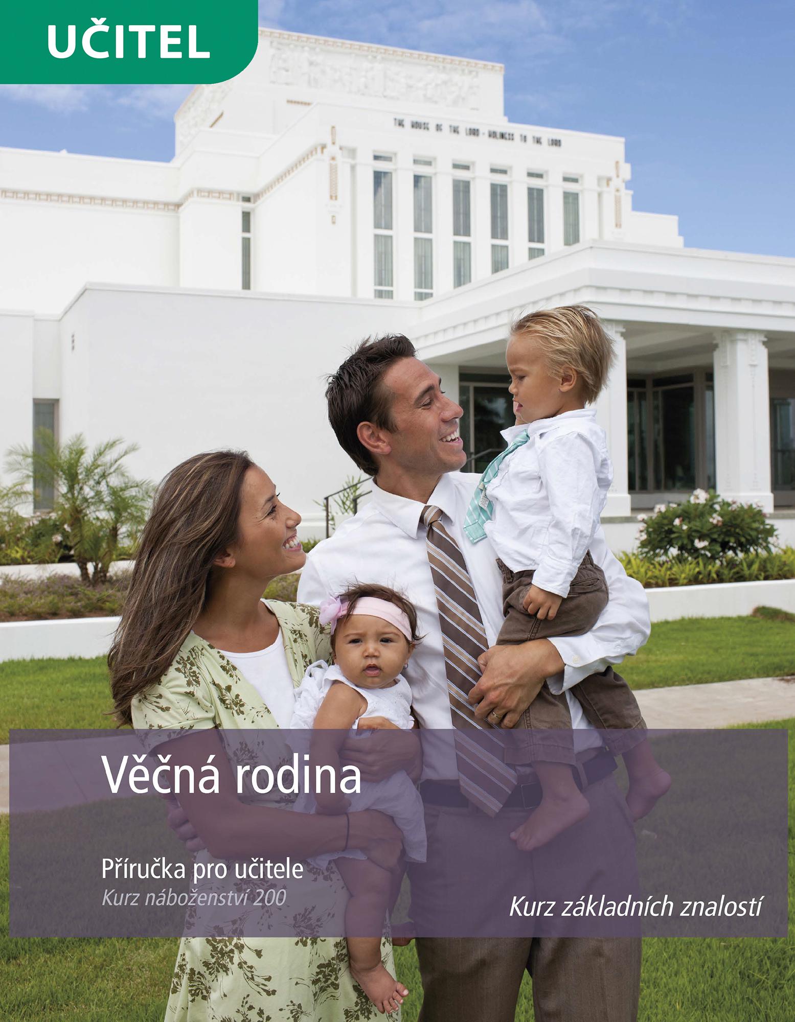 Věčná rodina – příručka pro učitele (Kurz 200)