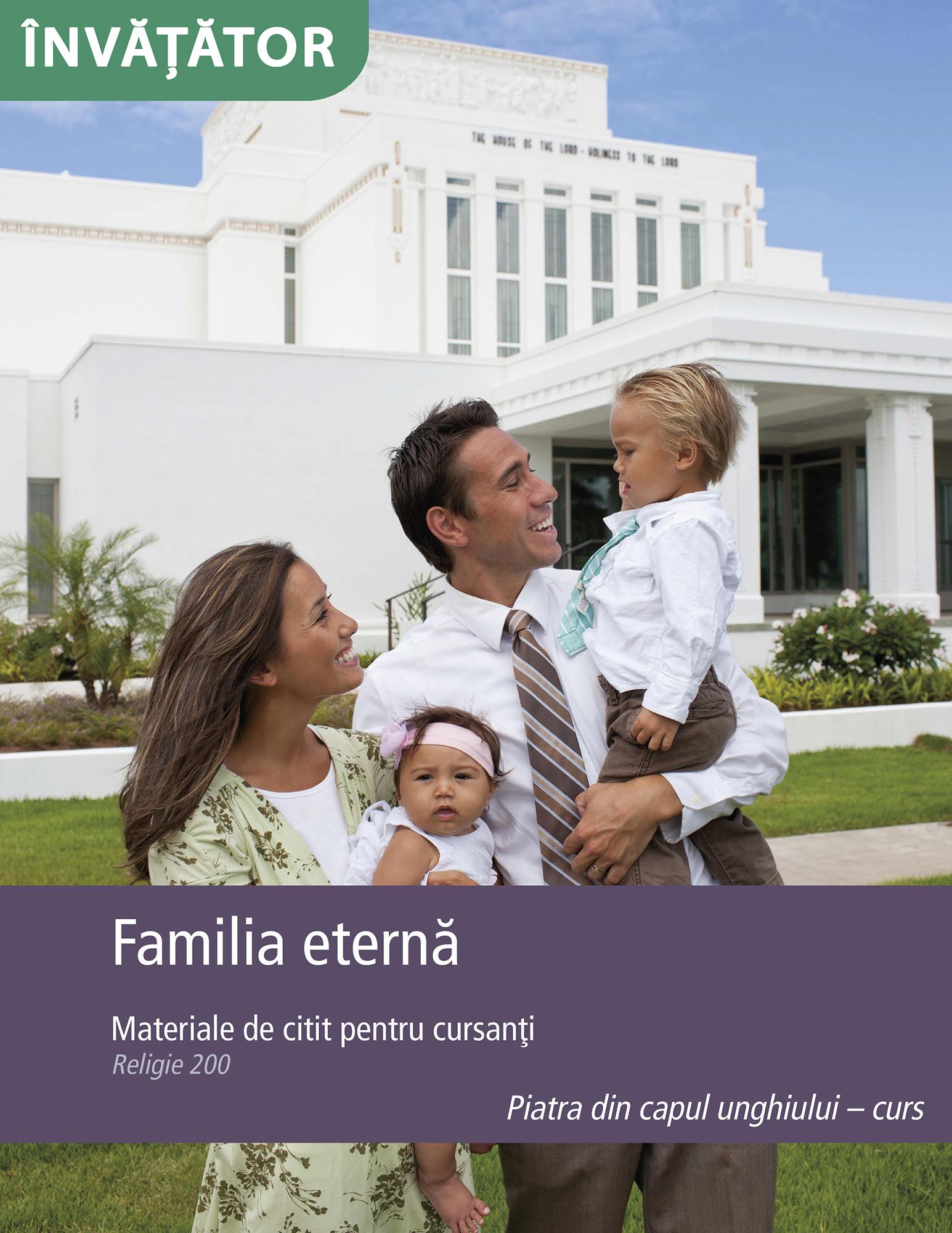 Familia eternă – Manual pentru învăţător (Rel 200)