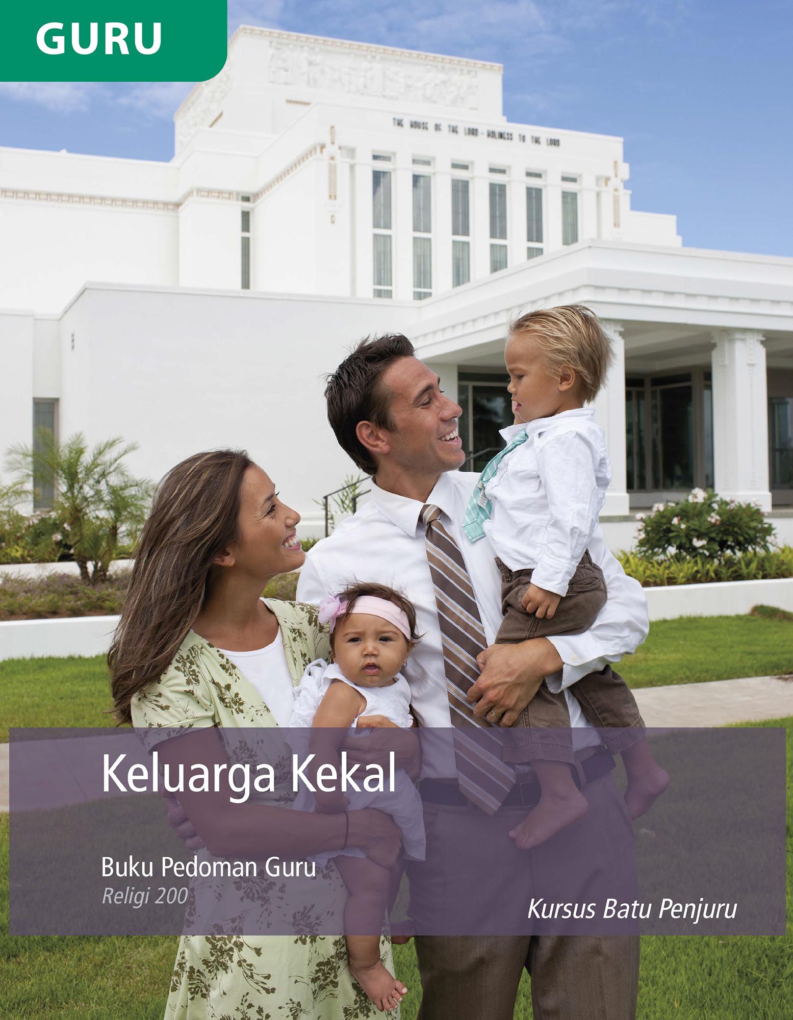 Buku Pedoman Guru Keluarga Kekal (Religi 200)