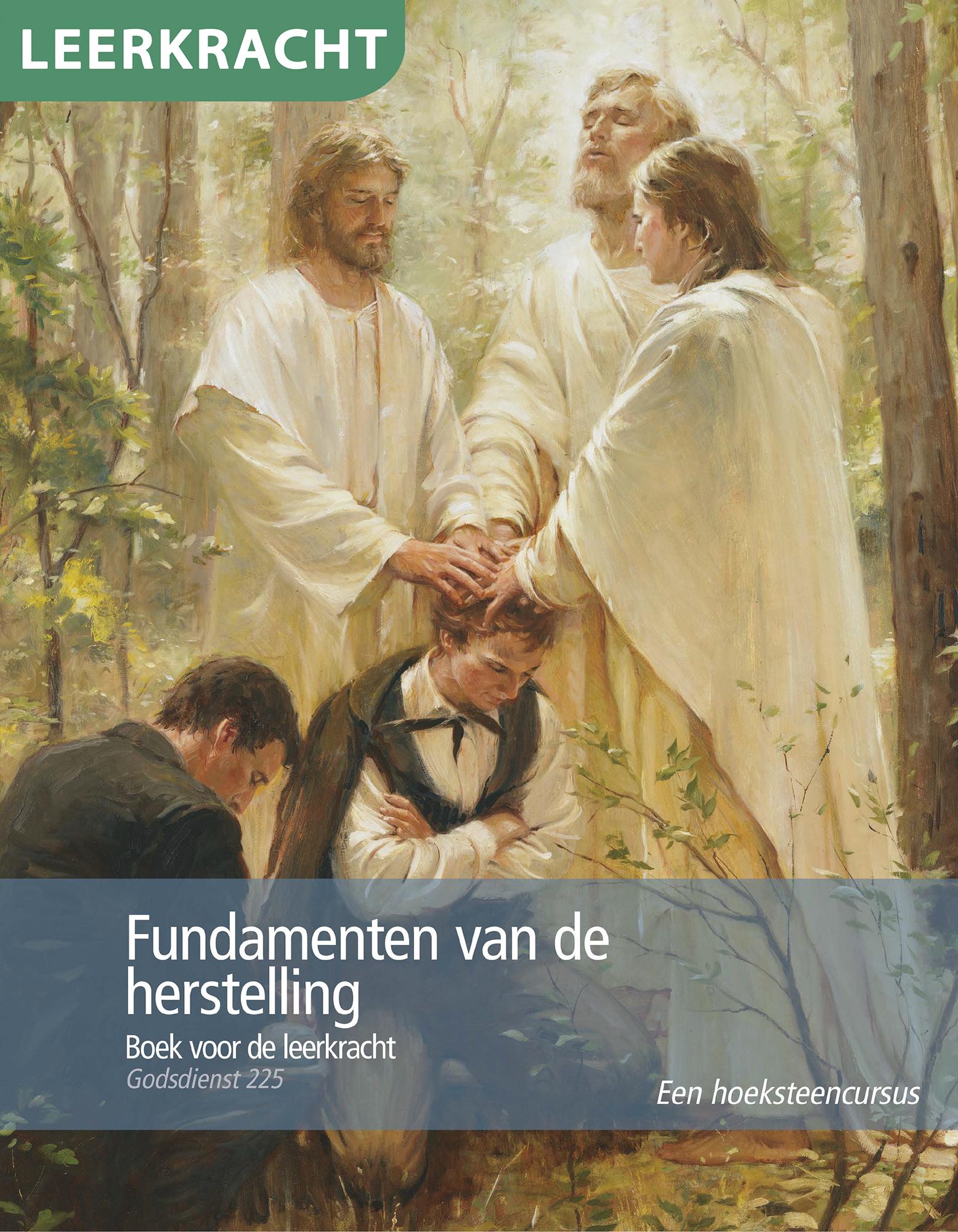 Fundamenten van de herstelling — boek voor de leerkracht (Godsdienst 225)