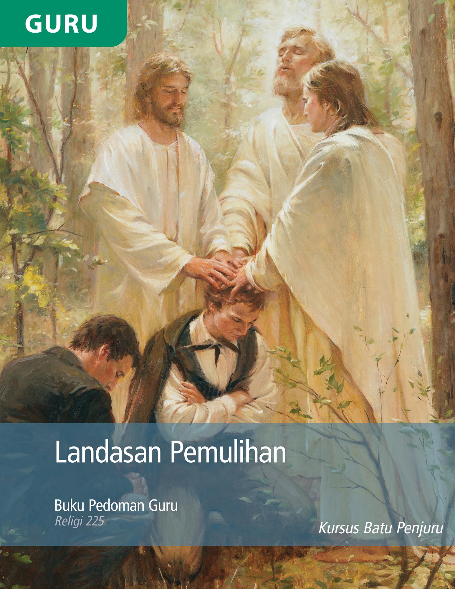 Buku Pedoman Guru Landasan Pemulihan (Religi 225)