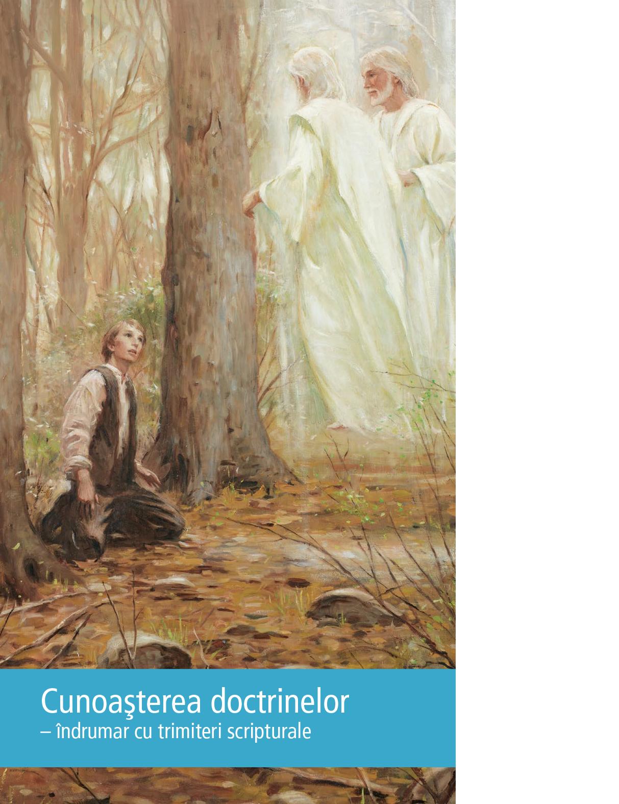 Cunoaşterea doctrinelor – îndrumar cu trimiteri scripturale