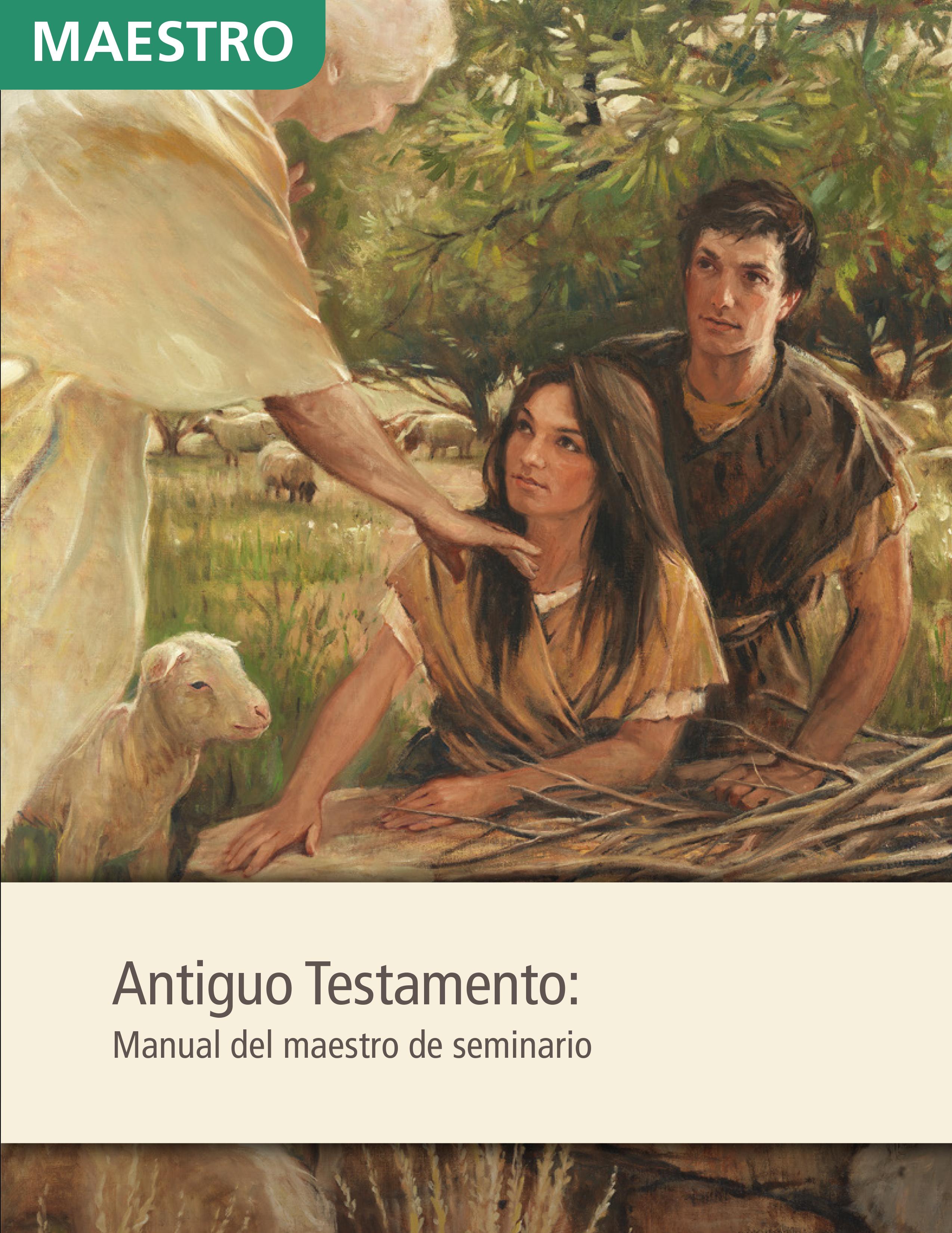Antiguo Testamento: Manual del maestro de Seminario
