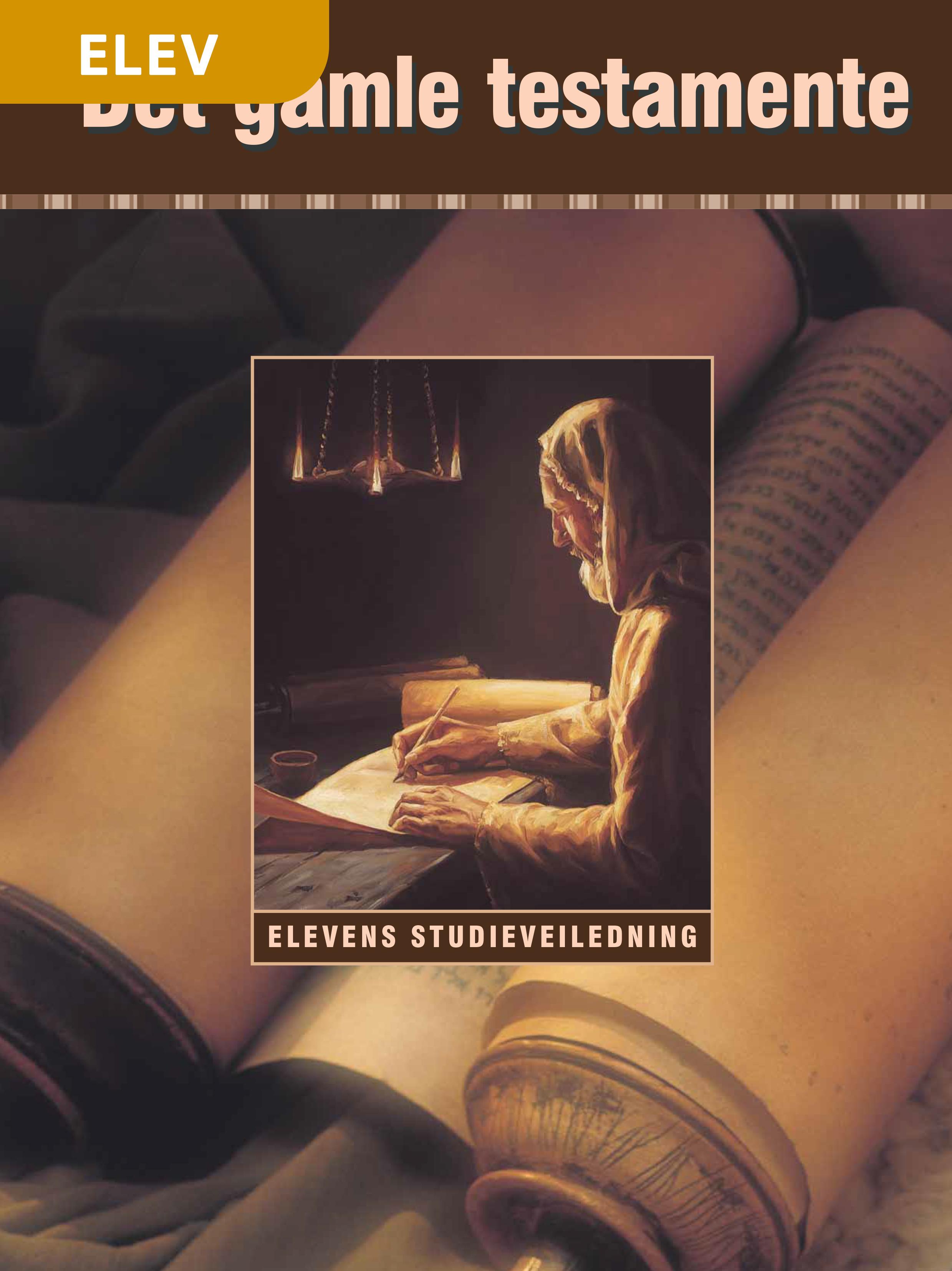 Det gamle testamente – Studieveiledning for Seminar-elever