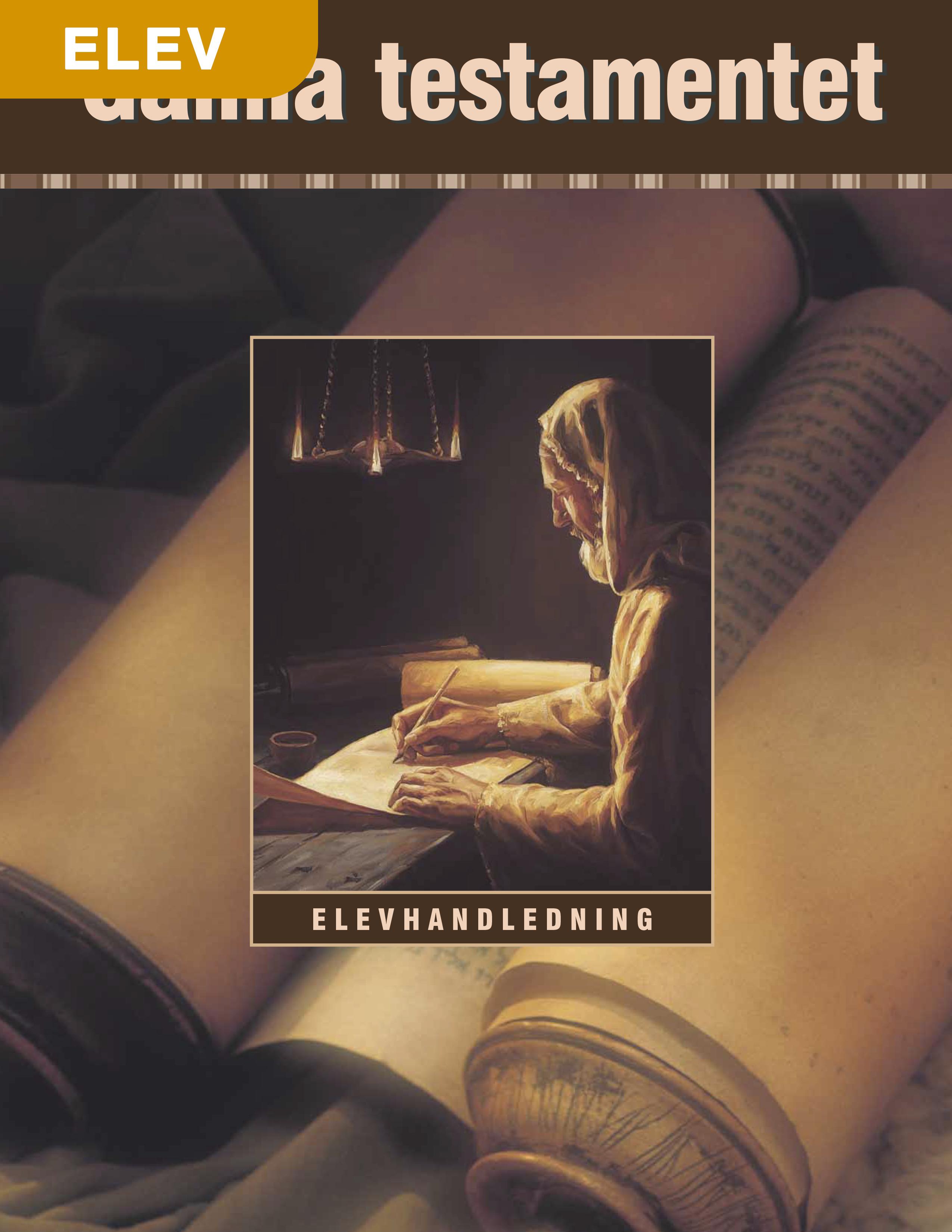Gamla testamentet – Elevhandledning