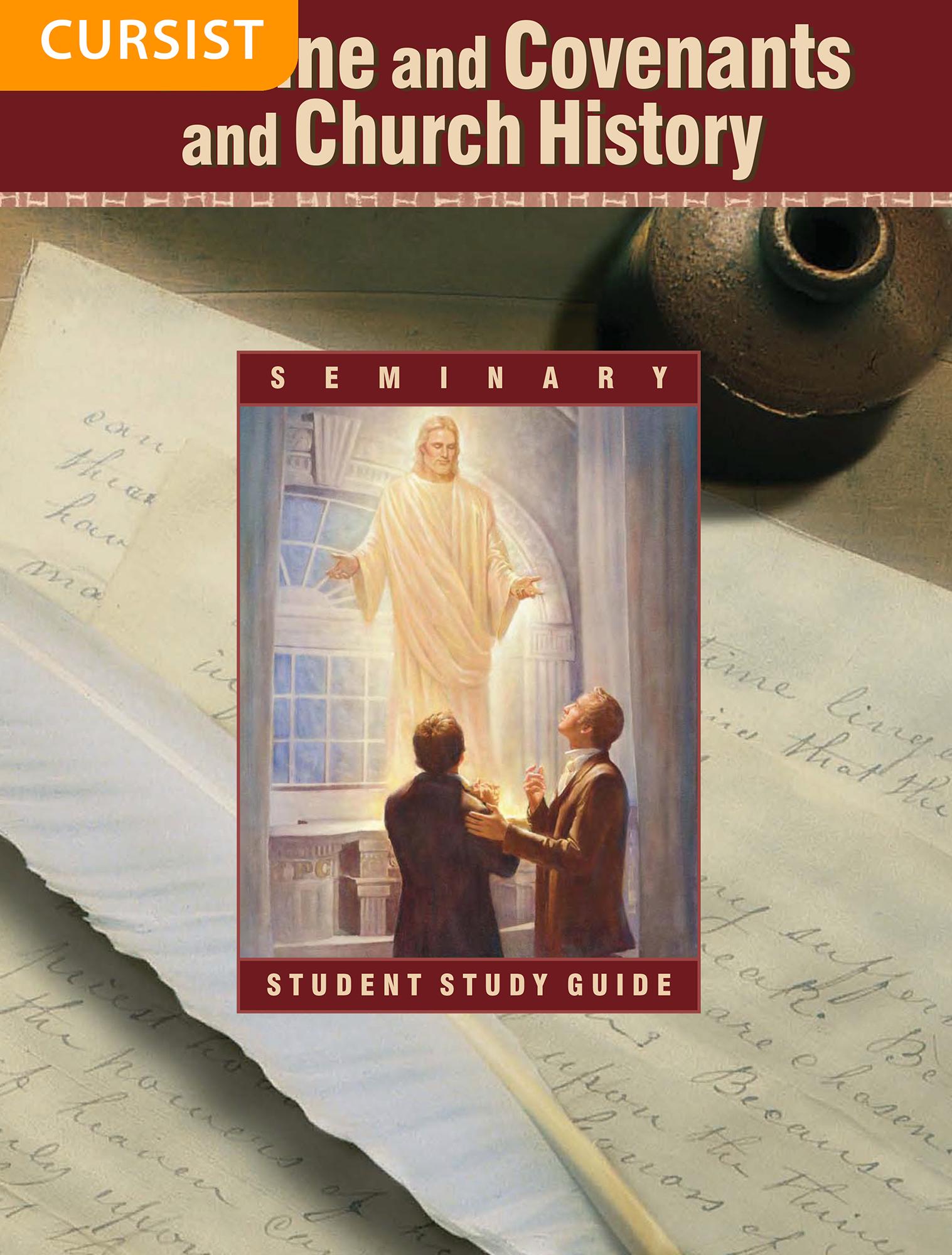 Leer en Verbonden en kerkgeschiedenis — leergids voor de seminariecursist