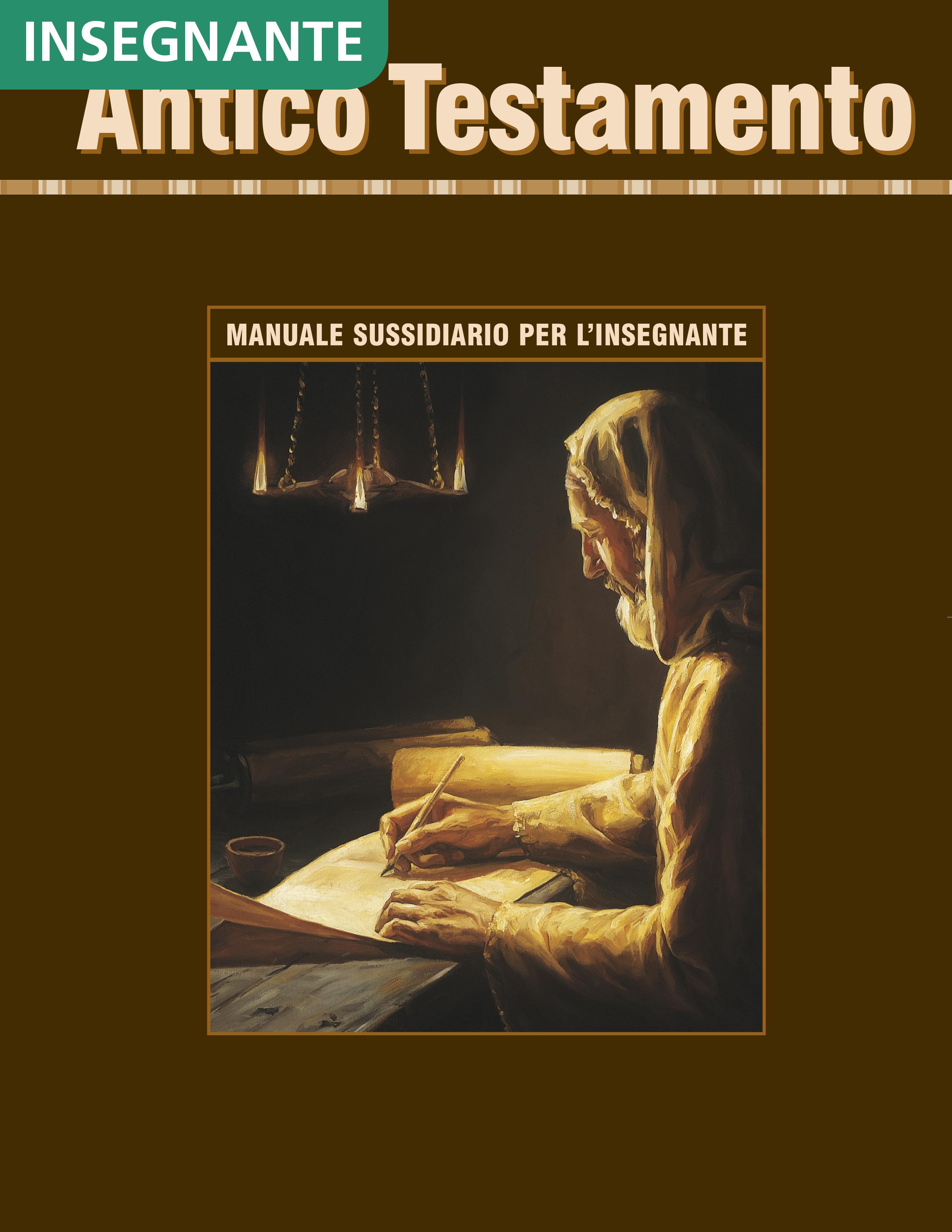 Antico Testamento – Manuale sussidiario per l'insegnante di Seminario