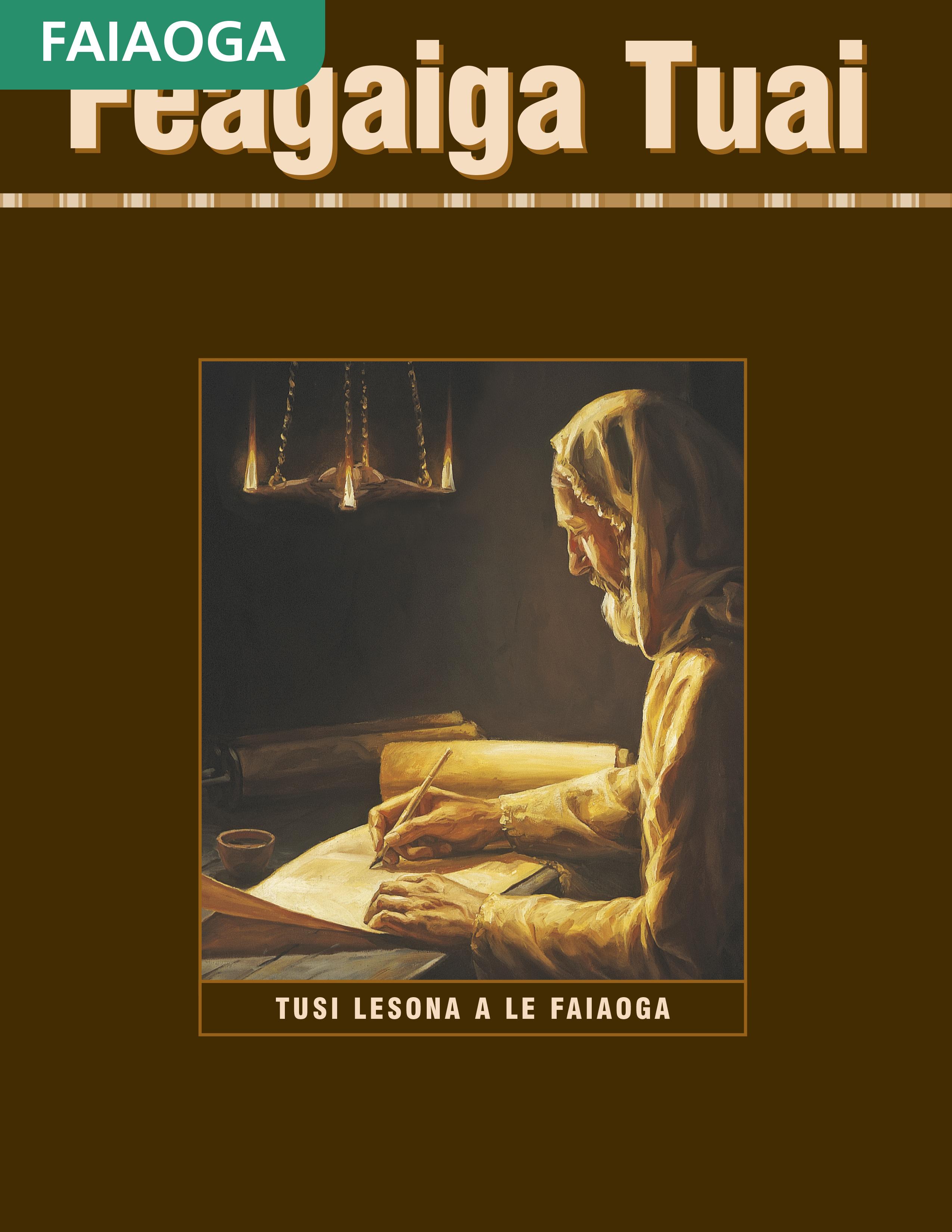 Tusi Lesona a le Faiaoga o le Feagaiga Tuai