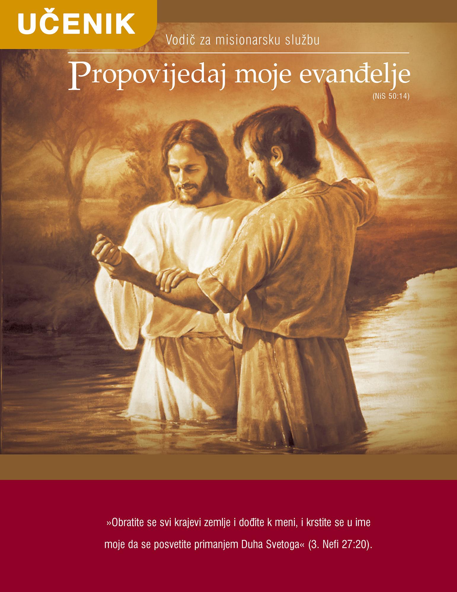 Propovijedaj moje evanđelje