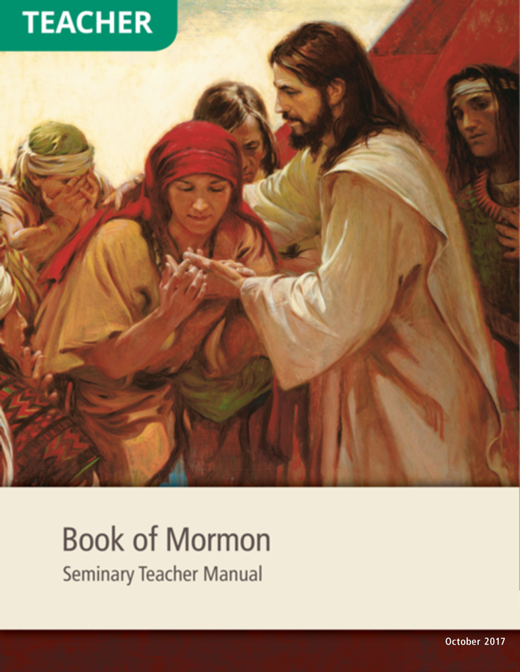 book of mormon institute teacher manual