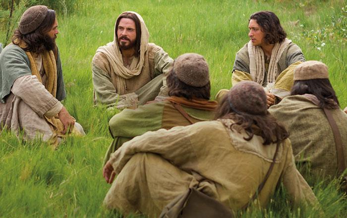 The Savior teaching